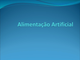Alimentacao Artificial