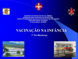 Vacinacao na Infancia - 3ª Policlínica do CBMERJ