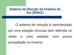 Monção na América do Sul