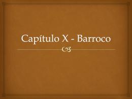 Cap X Barroco