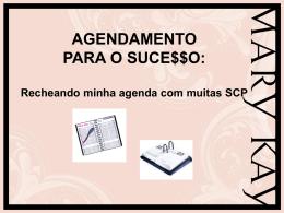 Dicas de Agendamento PP -.
