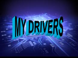my drivers.