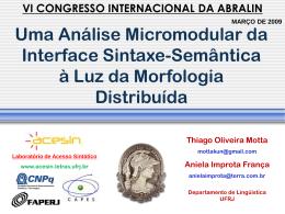 Estrutura Aspectual - Thiago Oliveira da Motta Sampaio