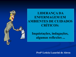 LIDERANÇA - Universidade Castelo Branco