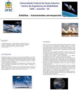 Satelites 0.1 – O que são, Como funcionam,Lixo espacial