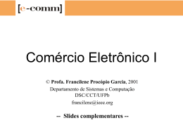 Comercio Eletronico I - Complemento