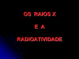 Raios X e Radioatividade - Grupo ATP