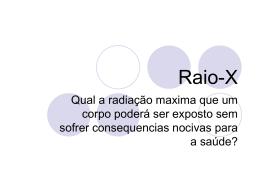 Raio-X - FisicaQuantica