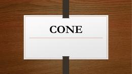 CONE - 2015