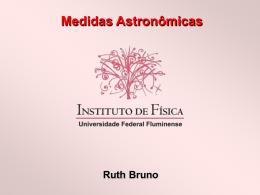 Medidas astronômicas - Propostas para o Ensino de Física