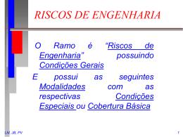 + Riscos Engenharia