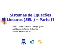 S. L. Iterativos