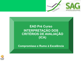 Pré-curso ICA