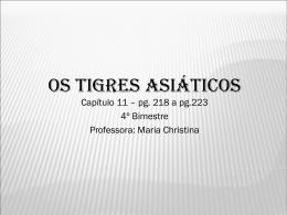OS TIGRES ASI%C1TICOS - Cap_ 11 - 8%BA ano