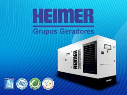 Todas as linhas de geradores Heimer proporcionam baixo nível de