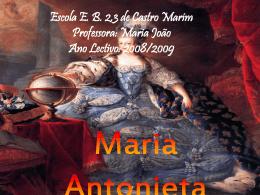 Maria Antonieta - Nuno e Raimundo