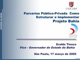 Parcerias Público-Privada Como Estruturar e - Sefaz-BA