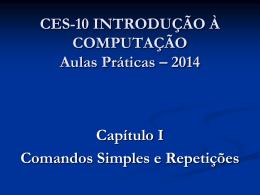 CES-10 Prática Cap 1
