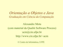 null - Centro de Informática da UFPE