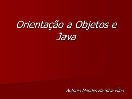 Orientação a Objetos e Java