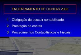 Formação - Técnicos oficiais de contas