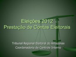 Contas Eleitorais - CRC-AM