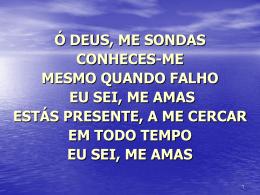 prosto-me diante da cruz vejo o sangue de jesus nunca houve amor