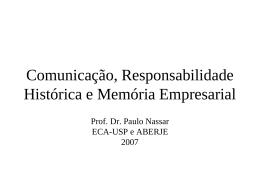 Memória - Unimed do Brasil
