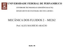 Sólidos e fluidos - Universidade Federal de Pernambuco