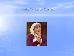 Madre Teresa de Calcutá / Catarina