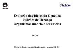 Evolução da Genética