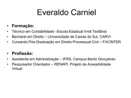 EVERALDO Carniel
