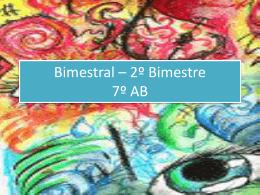 Bimestral – 2º Bimestre