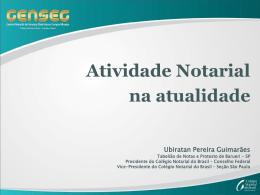 CNBCF - Apresentação RS - Dr. Ubiratan Pereira Guimarães