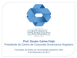 CCGA - Evento de apresentação (20131204) (Power Point