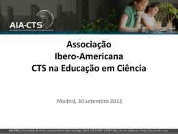 Apresentação Prof. Isabel P. Martins - Associação Ibero