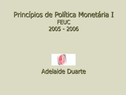 Princípios de Política Económica