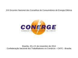 Conselho de Consumidores da COELCE - Região Nordeste