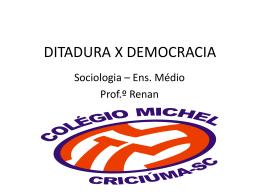 ditaduraxdemocracia