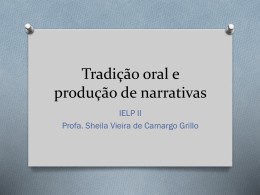Tradicao oral