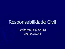 aula Responsabilidade Civil