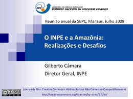 Monitoramento Ambiental da Amazônia por Satélite - DPI