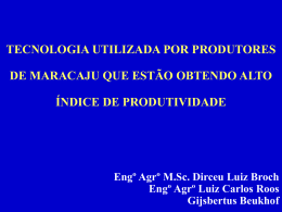 Dirceu Broch - Slides 1 a 30