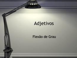grau-adjetivo