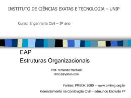 ADM 2a. Estruturas Organizacionais