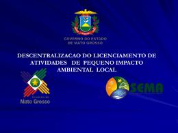 Descentralização do Licenciamento Ambiental