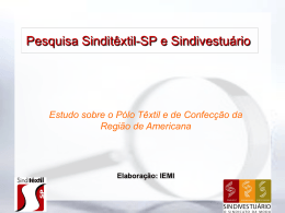 Slide 1 - Sinditêxtil-SP