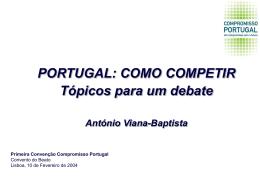 PPT 361KB - Compromisso Portugal