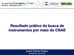 Apresentação André Fofano - CNAE - Documentos