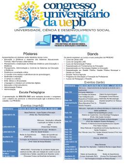 Programação - UEPB